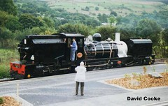 P6086 BP Garratt No.143 @ WHR Waenfawr 9.00 (davidncooke_686) Tags: train railway steam highland locomotive welsh ng gauge narrow