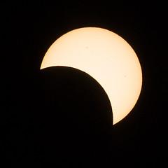collingwood-9481-ps-w (pw-pix) Tags: sun moon eclipse collingwood australia melbourne victoria alleyway solareclipse sunspots partialeclipse partialsolareclipse 14112012 20121114 14thnovember2012 behindworkthismorning