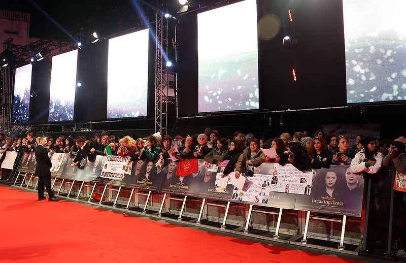 Atmosphere The Twilight Saga Breaking Dawn Part 2 UK premiere - arrivals London, England - 14.11.12 Lia Toby/WENN.com