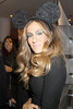 Sarah Jessica Parker at Barneys NY presenting Electric Holiday a moving art short created by Disney artists. New York City, USA