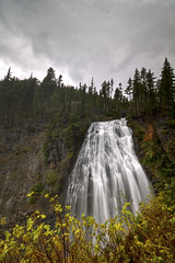 Nagara Falls - Mt. Rainier National Park (dwinning) Tags: park cloud water clouds forest waterfall washington mt cloudy overcast falls mount national rainier np nagara