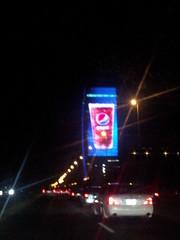The Huge Screen (Wisssss) Tags: tv big ad large screen huge jeddah lcd jiddah flickrandroidapp:filter=none