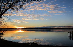 Ammersee3.11.12A (martin_r_mayer) Tags: sunset lake germany bayern deutschland bavaria see evening abend sonnenuntergang himmel spiegelung
