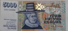 5000.kr (Andri Marino) Tags: cash currency icelandic 5000kr