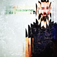 who's the guy (ale2000) Tags: portrait man sexy 6x6 sign square beard pop popart barba beppe reworked iphoneography decim8 snapseed