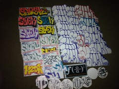 Fat pack from Sloek H2D (Decadent and Depraved) Tags: stickers h2d sloek