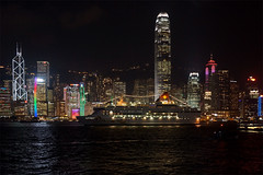 Hong Kong from Kowloon (Neil Pulling) Tags: night hongkong nightshot harbour starcruises starpisces thedailypost