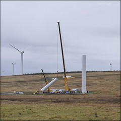 Up She Goes (North Light) Tags: november scotland windturbine caithness bailliewindfarm stemsterhill