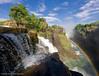 Victoria Falls Cascades (Panorama Paul) Tags: rainbow zimbabwe nik victoriafalls filters cascade nikkorlenses devilscataract neverhdr vertorama nikond800 paulbruinsphotography hougaardmalan