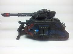 Lead tank 'Black Widow' (son of dorn87) Tags: warhammer40k gamesworkshop imperialguard forgeworld flickrandroidapp:filter=none