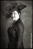 Caroline Elegant In Her Black Dress (@HotpixUK -Add Me On Ipernity 500px) Tags: bw black hat sepia mono dress cheshire little caroline number toned lbd sandbach hotpix lbn tonysmith hotpixuk tresman