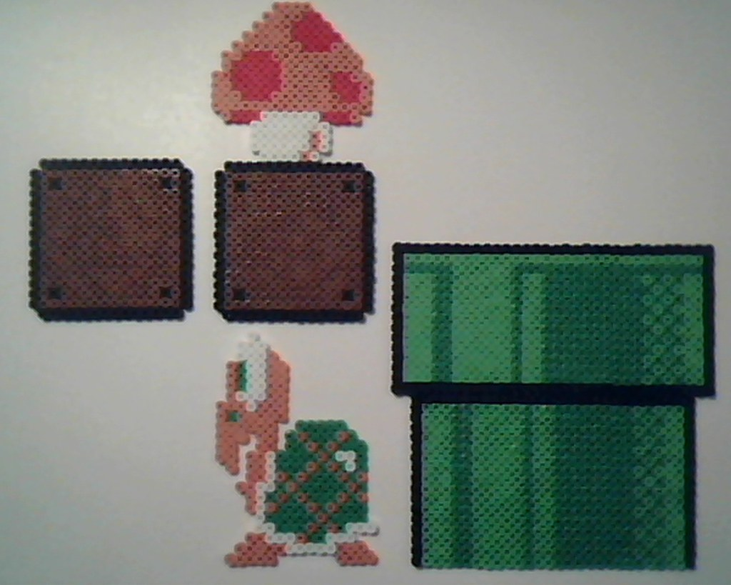 a6a6fff79 Super Mario Bros. - Assorted Misc (Sobou the Bear) Tags  mushroom beads