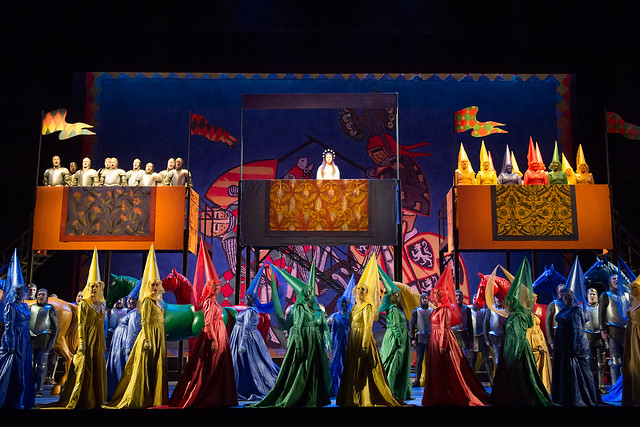 The Royal Opera Chorus in Robert le diable © ROH / Bill Cooper 2012