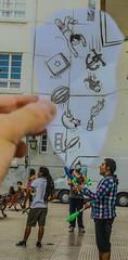 Maestria circense (psychosors) Tags: chile camera pencil ben surrealism vs rancagua heine jugglery pencilvscamera