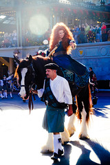 Merida (abelle2) Tags: horse princess angus disney parade disneyworld merida pixar brave wdw waltdisneyworld magickingdom christmasparade disneyprincess disneyparade disneychristmasparade princessmerida