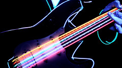 Neon Strung Guitar (Pennan_Brae) Tags: oregon musicvideo timcash pennanbrae farfromearthfilms