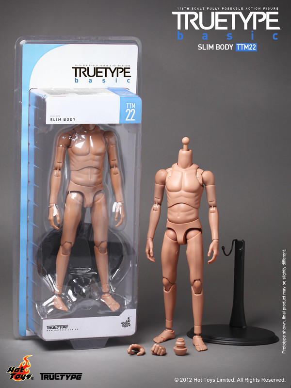 Hot Toys 推出三款全新素體TTM 20、21與22