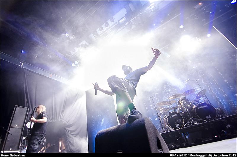 Meshuggah @ Distortion 2012