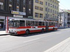 P7028229 DP Ústí nad Labem 533 (Skillsbus) Tags: history buses czechrepublic trolleybus škoda dpústínadlabem