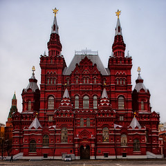 State Historical Museum (Gena Golovskoy) Tags: red museum square state russia moscow historical kramlin