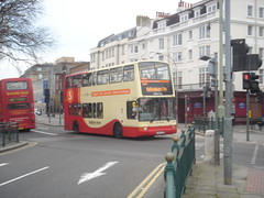 Y869 GCD (Route 5B) at St Peter's Place, Brighton (Mr MPD) Tags: brighton stpetersplace brightonandhovebuses y869gcd route5b