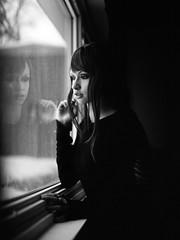 ** (Sandy Phimester) Tags: reflection mamiya film window beautiful trix silence stillness