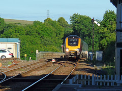 221130 Liskeard (2) (Marky7890) Tags: fgw gwr 221130 class221 supervoyager demu 1v58 liskeard railway station cornwall train