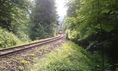train (jakubfilo) Tags: railroad train tunnel stare tunnels tunel railways railroads hory banska bystrica harmanec