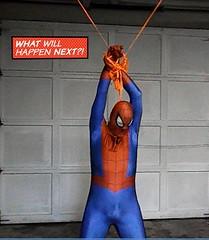 bhg8 (jayphelps) Tags: fetish cosplay spiderman superhero batgirl spandex superheroine