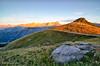 Behind Sunrise (silvia brisi) Tags: sampeyre sunrise alba alpi cuneo piemonte alps landscape mountains colors red orange nikon d7000 colle passo