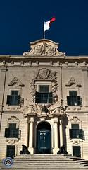 Auberge de Castille (2) (Michael N Hayes) Tags: malta valletta mediterranean europe summer fujifilmxpro1 sea culture city