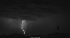 Deadly Quick (Soler Photography) Tags: photographyislife lightning nature sky night stormy rain weather monochromatic monochrome blackandwhite darkskies mothernature