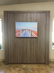 A Metro Panel Bed with Fluting (murphybeddepot) Tags: monaco metropanelbed metro melamine panel panelbed staugustine smooth textured