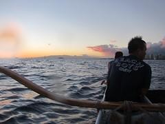 IMG_6854 (nautical2k) Tags: waikikibeachboys paddling outrigger canoe diamondhead honolulu oahu
