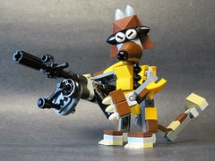 Rocket Racoon (monsterbrick) Tags: monsters marvelous mixel masterpiece collection series 2 lego moc spectre comics marvel rocketraccoon gaurdiansofthegalaxy