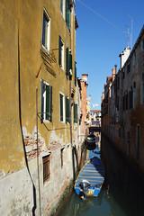 Venice DSC_8564 (Nina Roberts) Tags: venice ital canal boat color