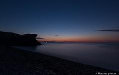 """""""Lueur"""" (pascaleforest) Tags: bluehour heurebleu capbonami gaspsie landscape paysage passion rve dream pcheur fisherman eau water longuepose longueeposure"""