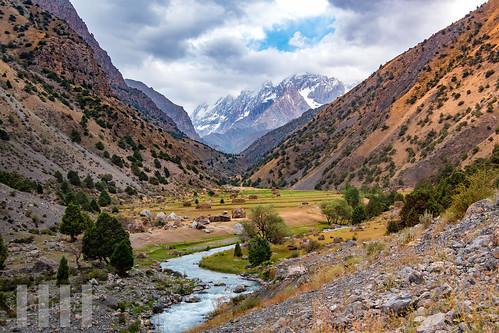Ghayrosan Valley, Fann Mountains, Tajikistan.