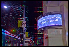 Peace of mind! 3-D ::: HDR/Raw Anaglyph Stereoscopy (Stereotron) Tags: toronto to tdot hogtown thequeencity thebigsmoke torontonian downtown financialdistrict night darkness north america canada province ontario streetphotography urban citylife architecture contemporary modern anaglyph anaglyph3d redcyan redgreen optimized anaglyphic anabuilder 3d 3dphoto 3dstereo 3rddimension spatial stereo stereo3d stereophoto stereophotography stereoscopic stereoscopy stereotron threedimensional stereoview stereophotomaker stereophotograph 3dpicture 3dglasses 3dimage twin canon eos 550d yongnuo radio transmitter remote control synchron in synch kitlens 1855mm tonemapping hdr hdri raw cr2