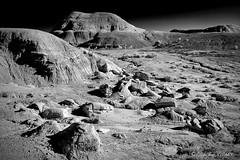 Moonscape (claudiov958) Tags: arizona biancoenero blackandwhite blancoynegro bw claudiovaldes landscape photoka pretoebranco ngc moonlike nikond800e afszoomnikkor2470mmf28ged