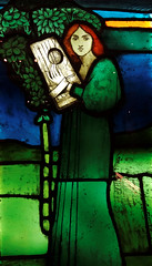 Ceol / Cerddoriaeth - David Gaul, 1891 (Rhisiart Hincks) Tags: yralban scotland albain kotija koterana eskozia broskos scoia cosse esccia schottland skotlanti escocia glasgow glaschu beirate gwerennlivet vitrailh prenestr leiho uinneagdhathte gwydrlliw gwerliv stainedglass cerddoriaeth sonerezh ceol muzika music merch fille neska plach girl caileag gwer green gwyrdd berde vert uaine
