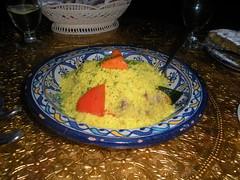 plain cous cous from Menara Moroccan Restaurant (ixfd64) Tags: ixfd64 nikon coolpix menara
