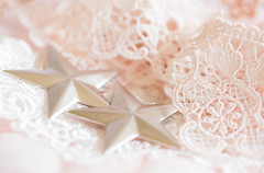 235/366: I'm a dreamer... (judi may) Tags: 366the2016edition 3662016 day235366 22aug16 macro macromonday macromondays stars lace pink pretty feminine highkey soft pastel stilllife canon7d dof depthoffield bokeh