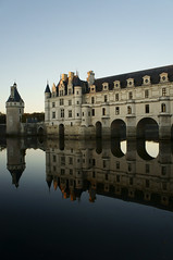 Welcome to my humble abode (SouzouryokuProject) Tags: chenonceau castle france reflection majestic loire cher river moat symmetrical towers peaceful sunset