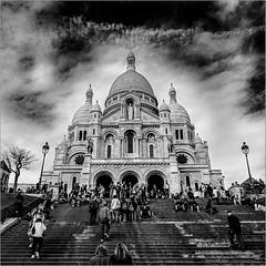Basilique du Sacre Cur (jacques-tati) Tags: basilique sacrcur butte montmartre paris france