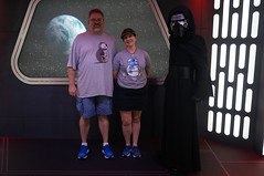 """Tracey and Scott with Kylo Ren • <a style=""""font-size:0.8em;"""" href=""""http://www.flickr.com/photos/28558260@N04/29146863481/"""" target=""""_blank"""">View on Flickr</a>"""
