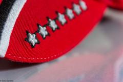 7 Sterne (fadenfloh) Tags: macromondays stars sterne rot weis macro makro montag mtze schumacher michael ngc keepfightingmichael msc