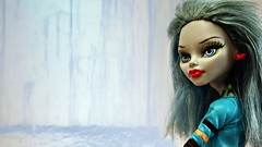 The ice caves (Allan Saw) Tags: ghouliayelps monster high doll portrait toy