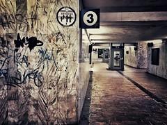 Platform 3 - iPhone (Jim Nix / Nomadic Pursuits) Tags: grunge platform trainstation italy europe travel snapseed iphone
