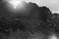 Numeriser30NB2 (leFloChat) Tags: countryside bw blackandwhite canon ae1 canonae1 germany allemagne festival sacredground sacredgroundfestival argentique crowd people trampe brussow analog film